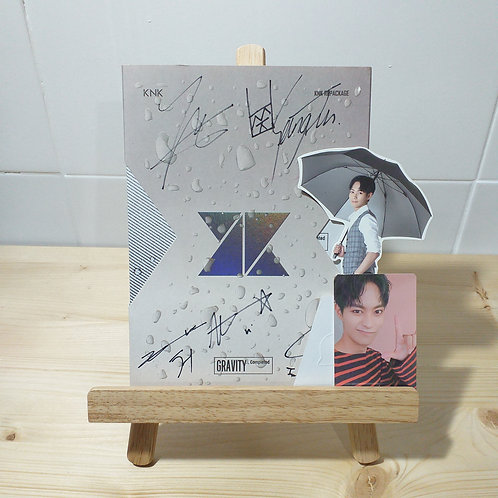KNK - Gravity Autographed Signed Album