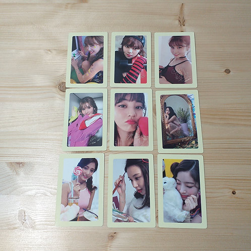 Twice - Twicetagram Official Photocard Set