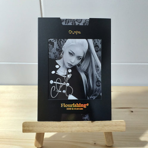 CHUNG HA - 4th Autographed Signed Album