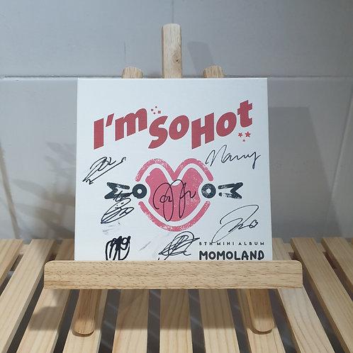 Momoland - 5th Mini  Signed Promo Album