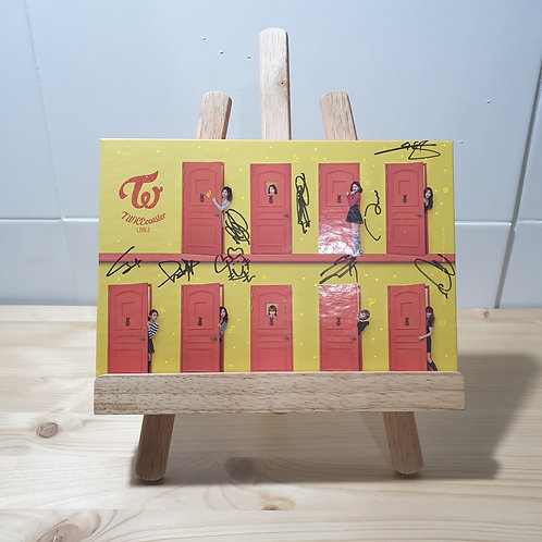 Twice -Twicecoaster lane 2 Autographed Signed Album
