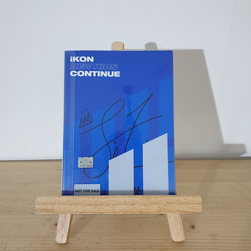 IKON - New Kids Continue Autographed Promo Signed Album