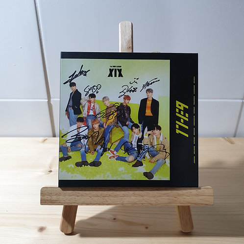 1THE9 - [XIX] Autographed Signed Album