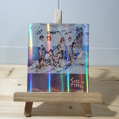 Twice -Signal 4th Mini Autographed Signed Promo Album
