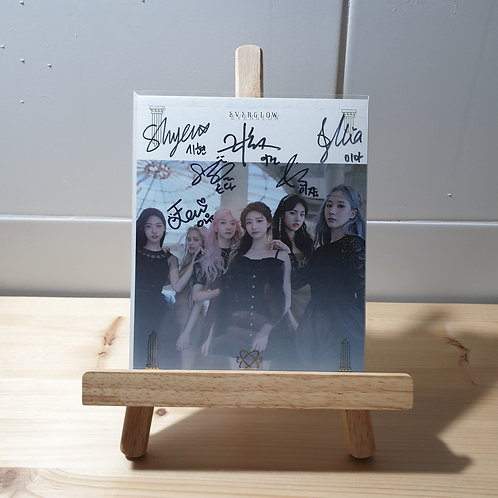EVERGLOW - 2nd Single Autographed Signed Promo Album
