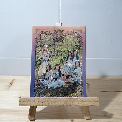GFRIEND - 2nd Autographed Signed Promo Album