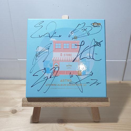 ASTRO - 4th Mini Dream Part.01 Autographed Signed Promo Album