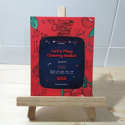 CHERRY BULLET - 1st Single Autographed Signed Promo Album (NoCD)