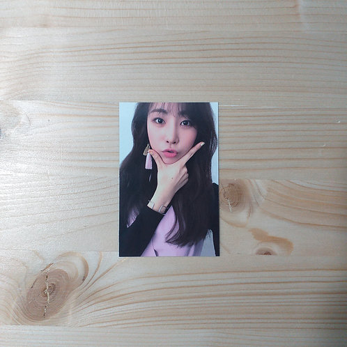GUGUDAN - Act. 2 Narcissus Official Photocard (Haebin ver.)