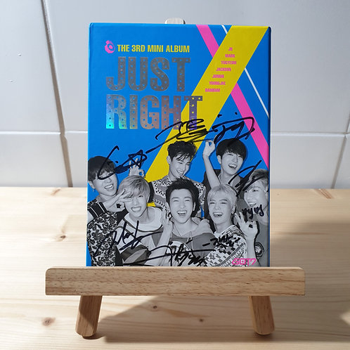 GOT7 - Just Right Autographed Signed Album