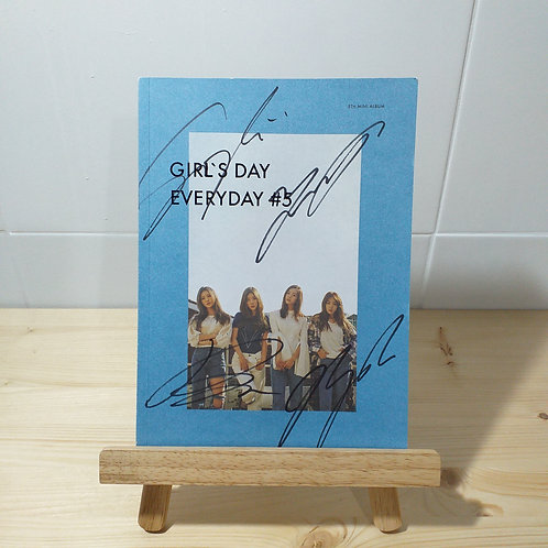 Girl's Day - 5th Mini Autographed Signed Album