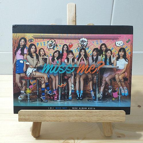 IOI - Miss Me Autographed Signed Promo Album