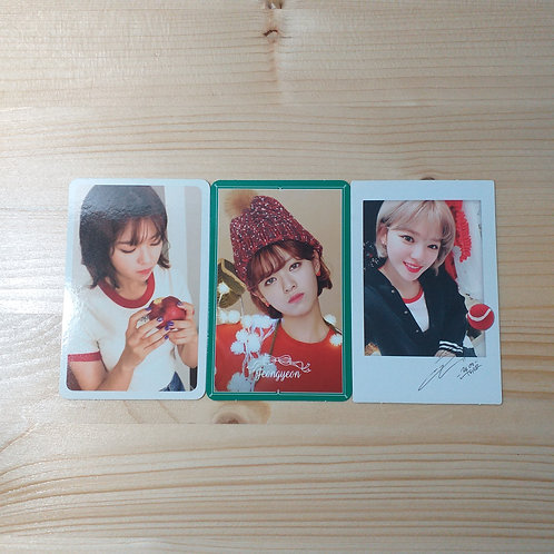 Twice - Jeongyeon Official Album Photocard x3