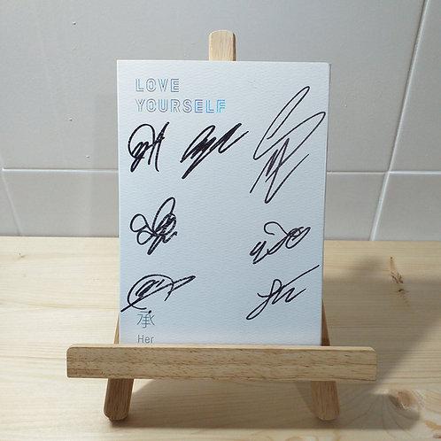BTS - 5th Mini Autographed Signed Album