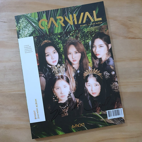 Bvndit -  Carnival Autographed Signed 2nd Mini Album