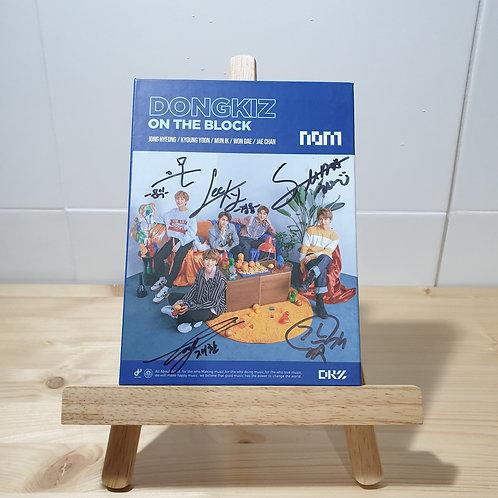 DONGKIZ - 1st Single Autographed Signed Promo Album