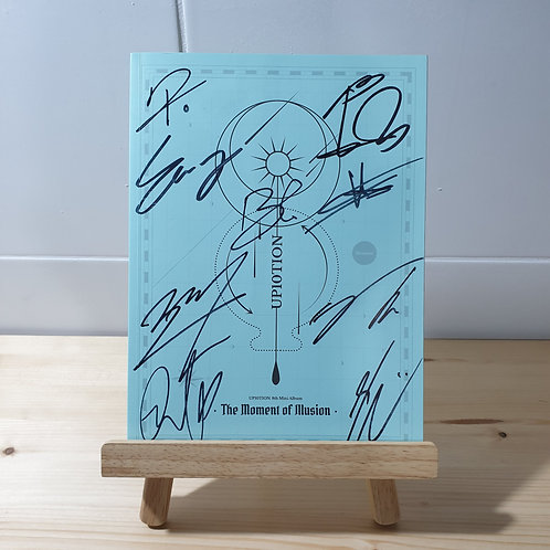 UP10TION - [The Moment of Illusion] Autographed Signed Promo Album
