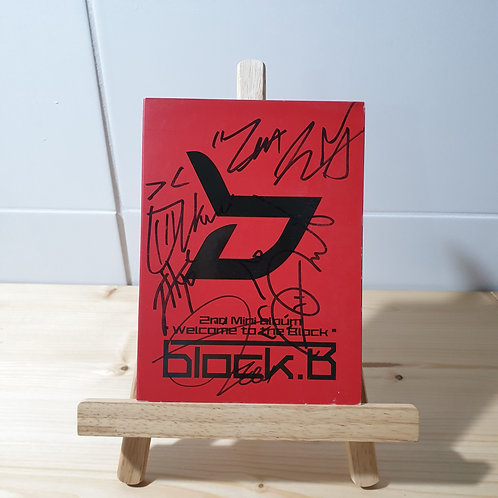 BLOCK B - 2nd Mini Autographed Signed Promo Album