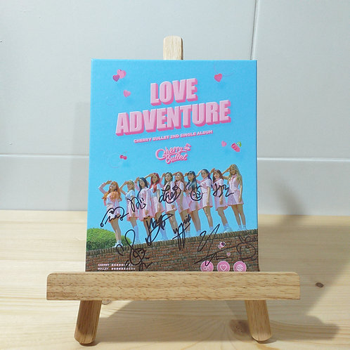 CHERRY BULLET - 2nd Single Autographed Signed Album