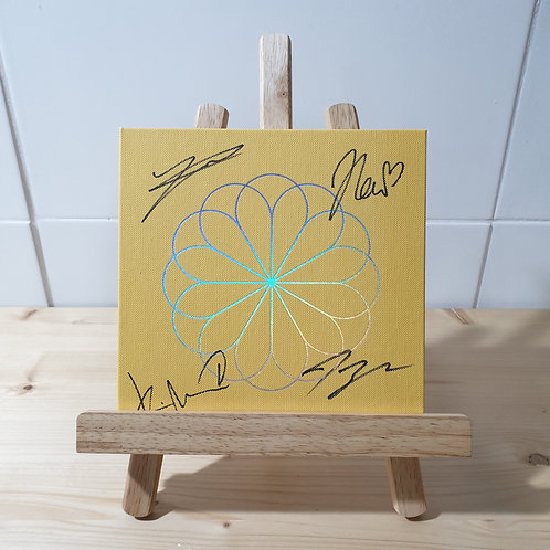 THE BOYZ - 2nd Single Autographed Signed Album (Heart ver.)