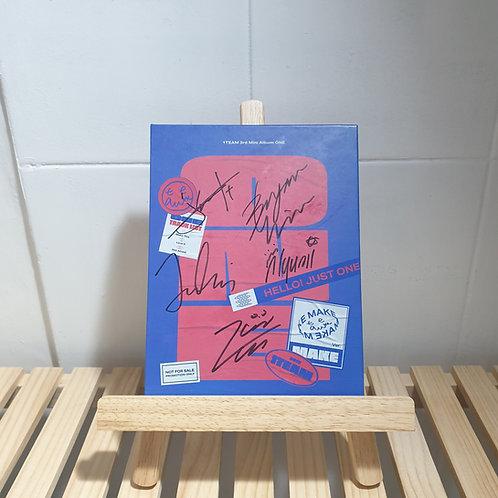 1TEAM - 3rd mini Signed Promo Album