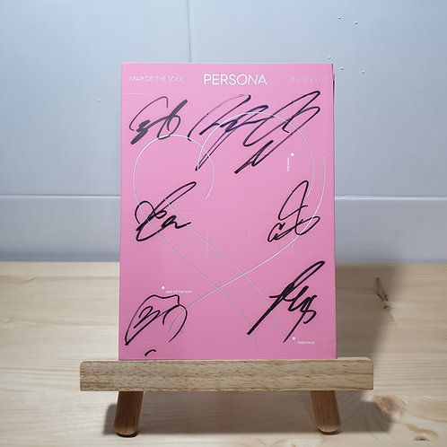 BTS -MAP OF THE SOUL : PERSONA Autographed Signed Album