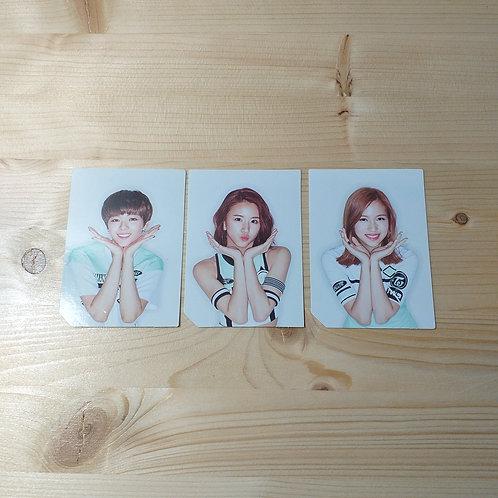 TWICE - 2nd Mini Album Official Photocard x 3