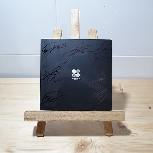 BTS - 2nd  Wings Autographed Signed Album