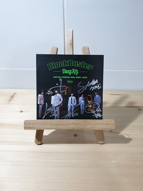 DONGKIZ - 2nd Single Autographed Signed Promo Album