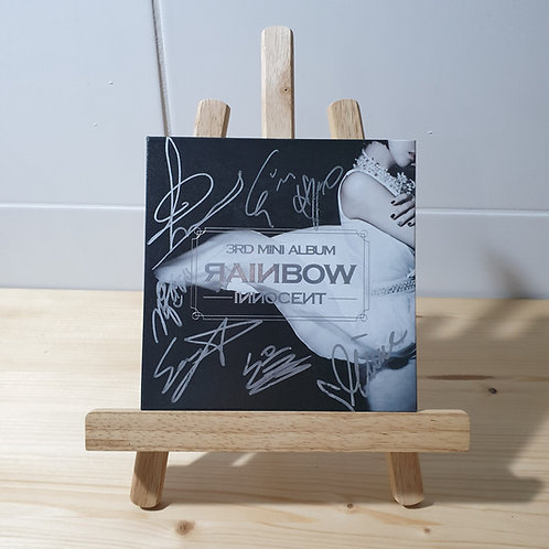 RAINBOW - 3rd Mini Autographed Signed Promo Album