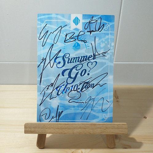UP10TION - 4th Mini Album Autographed Signed Promo Album