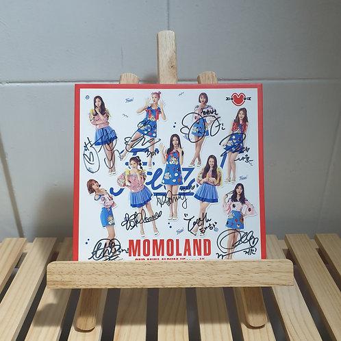 Momoland -2nd Mini Signed Promo Album