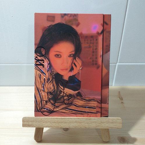 Chungha - 2nd Mini Autographed Signed Promo Album