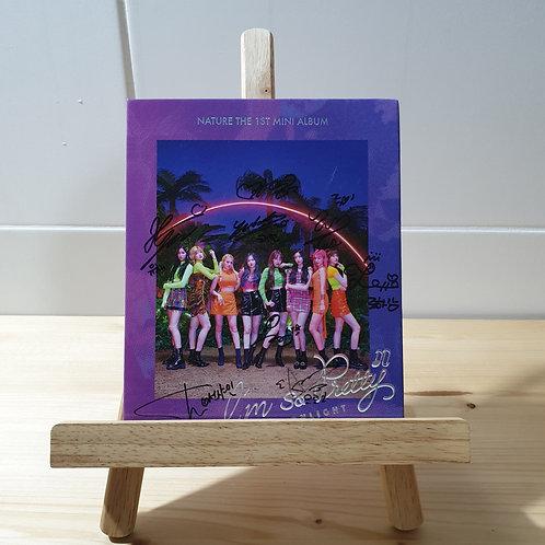 NATURE - 1st Mini Autographed Signed Promo Album