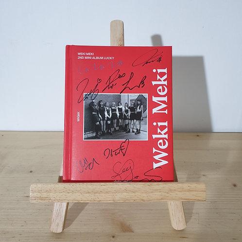 Weki Meki  - 2nd Mini Autographed Signed promo Album