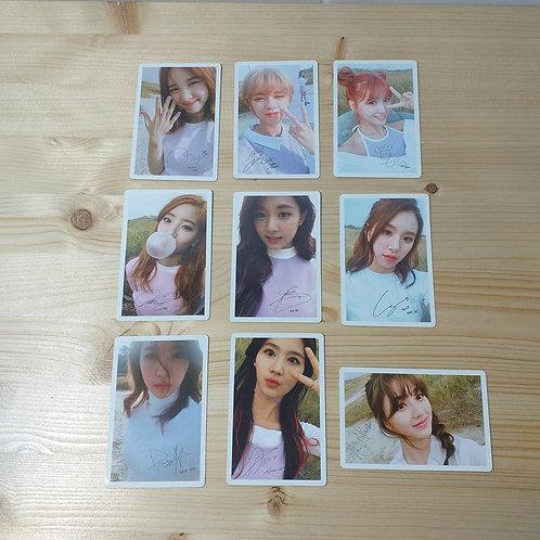 Twice - Twicecoaster Lane 1 Official Photocard Set
