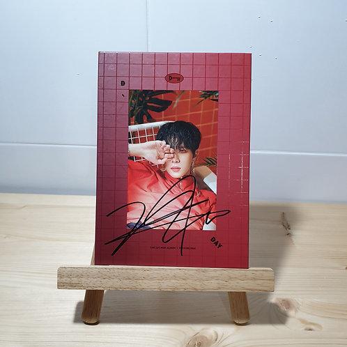 KIM DONG HAN - [D-DAY] 1st Mini Album Autographed Signed Album