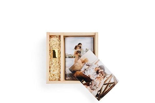 Wood Box Set (Prints and USB)
