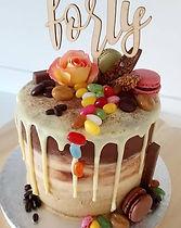 cappuccino drip cake