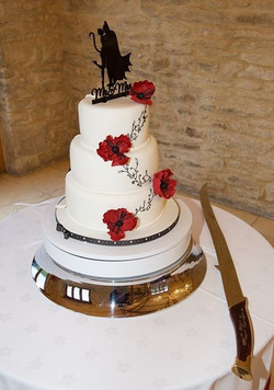 BatManWed Cake1
