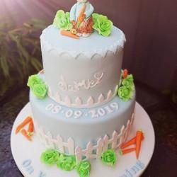 #peterrabbitcake #christeningcake
