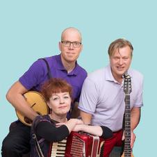 Loiskis Trio: Oivo, Nurmi, Nättinen, kuva Tanja Koskinen