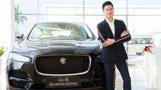 Chi tiết xe sang JAGUAR F-PACE của ca sỹ Quang Dũng