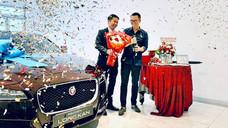 Đạo diễn Long Kan tậu xế sang Jaguar XF hơn 2 tỉ đồng