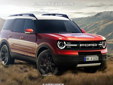 Ford Bronco sẵn sàng chào sân: Land Rover Defender và Mercedes-Benz G-Class cho giới trung lưu.
