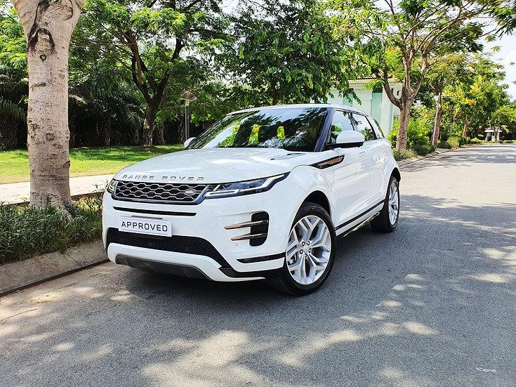 Xe Cũ: Range Rover Evoque Trắng 2020