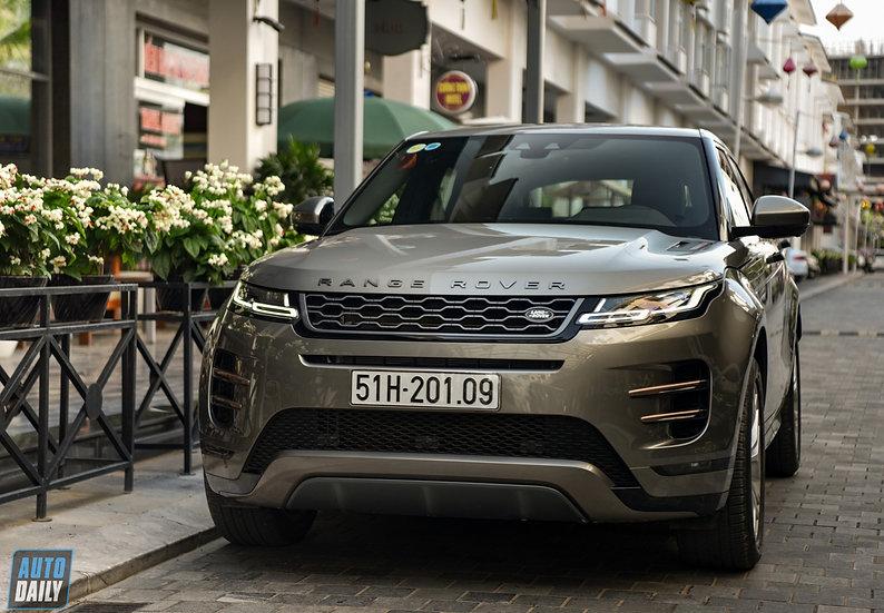 Bán Xe Cũ: Range Rover Evoque 2020 vàng cát