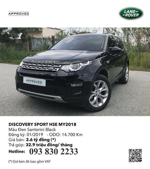 2019 Discovery Sport 2.0 I4 PETROL HSE