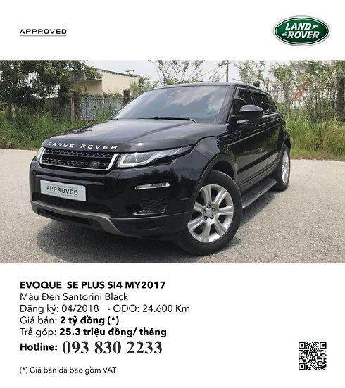 RangeRover Evoque SE 2017
