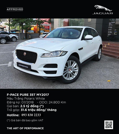 2017 F-PACE 3.0 V6 SUPERCHARGED 5 DOOR